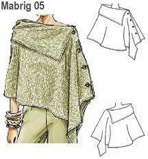 como hacer moldes de abrigos para mujer ... <3 Deniz <3