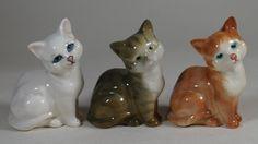 Beswick Set of 3 Kitten Melbourne Cat Figures 1436 Ginger, Grey Striped & White | eBay