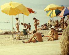 Vintage 70s Beach Series  Set of 3  8x10 by sashagrubor on Etsy, $60.00
