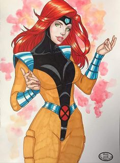 Marvel Women, Marvel Girls, Marvel Heroes, Marvel Comics, Jean Grey Phoenix, Dark Phoenix, Man Character, Comic Character, Comic Books Art