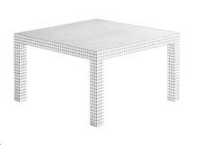 <strong>Name:</strong> Zanotta QUADERNA dining table  <strong>Manufacturer:</strong> Zanotta
