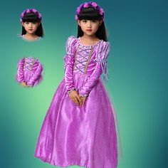 http://babyclothes.fashiongarments.biz/  Fantasia Vestidos girl wedding dress princess dresses girl rapunzel costume kid rapunzel dress Princess costume girl party dress, http://babyclothes.fashiongarments.biz/products/fantasia-vestidos-girl-wedding-dress-princess-dresses-girl-rapunzel-costume-kid-rapunzel-dress-princess-costume-girl-party-dress/, Tips:1,Mesh FABRIC. Cotton lining Direct contact with the skin fabric,don't need worry to harm baby's skin.100% health2,the lowest price with…