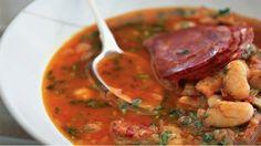 Španělská fazolová polévka