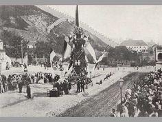 vítání císaře před Újezdskou barnou, 1866