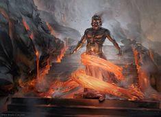 Prophetic Flamespeaker MtG Art