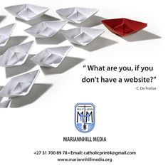 What are you, if you don't have a website? Media Design, Website