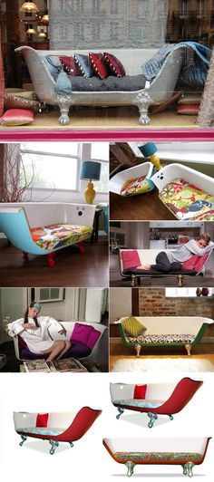 I made one of these for my studio apartment in Atlanta back in the 70's.  I'm gonna make me another one - Got feet - Need tub.