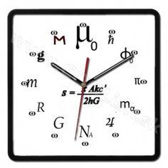 Nástenné hodiny Fyzikálne http://www.coolish.sk/sk/originalne-darceky/nastenne-hodiny-fyzikalne