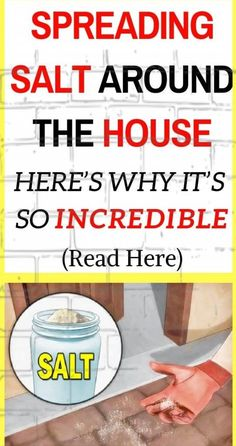People have used salt in their homes for cleaning purposes, for hundreds of years. It doesn't provide any toxic effects and this is the reason why people have relied on it for disinfection and cleaning of different things found in their households. Oral Health, Health Tips, Health And Wellness, Health Care, Wellness Tips, Health 2020, Health Fitness, Health Facts, Fitness Tips