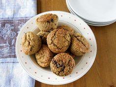 maple•spice: Healthy Banana and Orange Dark Chocolate Chunk Muffins