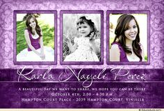 22 best quinceanera invitations and save the dates images on