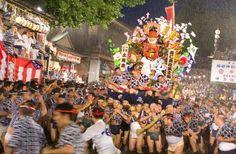 博多祇園山笠 Hakata Gion Yamagasa Festival  Japan