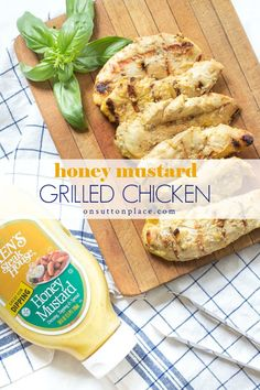 This is the best grilled chicken recipe! It's easy quick moist and delicious. Uses fresh or frozen chicken breasts. Paired with rosemary roasted potatoes it makes the perfect summertime meal. Best Grilled Chicken Recipe, Grilled Chicken Strips, Chicken Strip Recipes, Turkey Recipes, Best Grill Recipes, Barbecue Recipes, Grilling Recipes, Cooking Recipes, Bbq