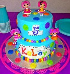 Kelcy's Lalaloopsy Cake!!