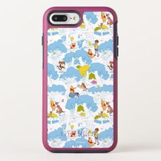 Eeyore 10 OtterBox iPhone case | Zazzle.com Eeyore Gifts, Winnie The Pooh Friends, Tree Patterns, Apple Logo, Synthetic Rubber, Cute Pattern, Apple Iphone 6, Iphone 8 Plus, Protective Cases