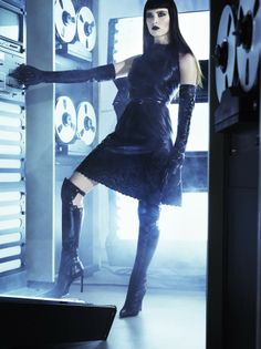 Felicity Jones by Tom Munro for the March 2012 issue of Vogue Italia