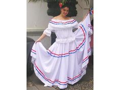 Haiti, Barbie Dress, Dress Up, Cultural Diversity, Tiered Skirts, Dominican Republic, Ethnic Fashion, Traditional Dresses, Caribbean