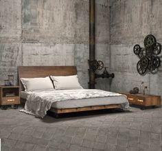 Decoración de dormitorios estilo industrial