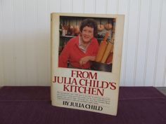 From Julia Child's Kitchen Vintage Cookbook by ButterBeanBooks