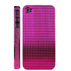 Pink textured iPhone 4 case