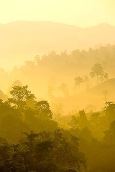 Sun rise. Outskirts of Chang Rai, Thailand - this is what I remember from our early mornings in Chang Rai