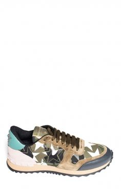 Baskets Militaire Etoile Rose&Turquoise by Valentino Valentino, Basket Mode, Baskets, Turquoise, Sneakers, Shoes, Fashion, Brand Name Shoes, Military Personnel