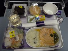 LAN airlines meal @ Chile