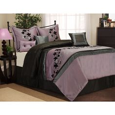 Daniella 7-Piece Bedding Comforter Set: Bedding : Walmart.com