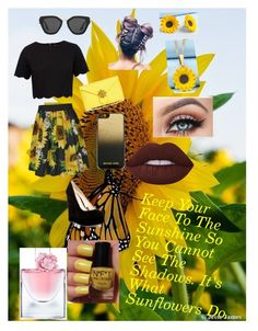 """""""Untitled #52"""" by sdfletch998 on Polyvore featuring Ted Baker, Dolce&Gabbana, Nine West, Prada, MICHAEL Michael Kors, Summer and Silver and Lancôme"""