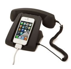 Take Your iPhone Totally Retro With A Talk Dock ... see more at Inventorspot.com