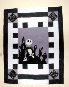 Nightmare Before Christmas Quilt Pattern We Re Simply
