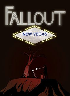 Fallout New Vegas Poster Fallout Posters, Fallout Art, Fallout New Vegas, Fallout Tattoo, Fallout Wallpaper, Fall Out 4, Skyrim, Game Art, Cool Art