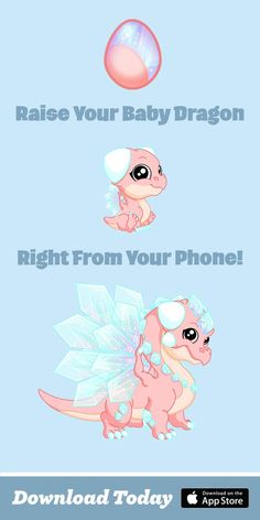 ♥  Dragons? We Do. Download DragonVale - You Never Know What You'll Hatch! | Dragons | Mobile Game | Free | Simulation Game| Dragon Art |
