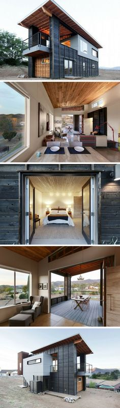 Container House - 510 CABIN STUDIO SHIPPING CONTAINER HOME - Who Else Wants Simple Step-By-Step Plans To Design And Build A Container Home From Scratch? #LogHomeInteriors
