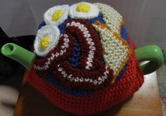 Fathers Day Bacon and Eggs Tea Cosy