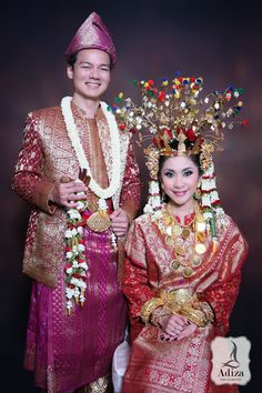 Musi Rawas I South Of Sumatera Taditional Wedding Outfit