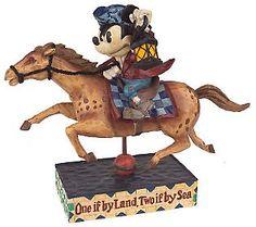 *MICKEY ~ Jim Shore Heartwood Creek Paul Revere Mickey Mose Figurine