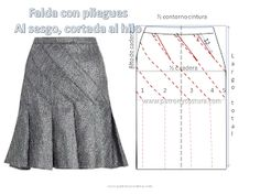 Image Article – Page 628392954240596678 Skirt Patterns Sewing, Coat Patterns, Clothing Patterns, Fabric Sewing, Blouse Patterns, Circle Skirt Pattern, Pants Pattern, Costura Fashion, Schneider