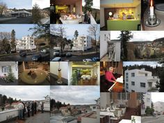 Guided tours of the functionalist villa Radun interpretation of history Luhačovice white neighborhood.
