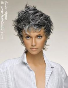 Silver Highlights On Black Hair | silver-hair-7
