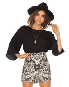 Super cute shorts are all you need this season, in a flattering high waisted fit with a loose leg.