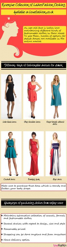 Make a splash in the party by choosing trendy ladies dresses from reputed UK based online fashion store.