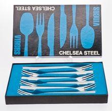 Viners - Viners cutlery - Viners Chelsea - Viners Chelsea Dessert Forks  - Viners Chelsea Boxed Dessert Forks - Viners Chelsea Set Dessert F...