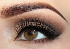 Love the brows and neutral eye makeup :)