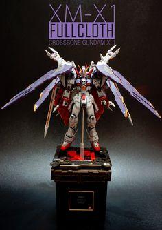 GUNDAM GUY: MG 1/100 Gundam Crossbone XM-X1 Full Cloth - Customized Build