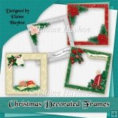 Christmas Decorated Frames Tri Fold Cards, Slider Cards, Folded Cards, Stepper Cards, Wine Bottle Tags, Bead Embroidery Patterns, Shaped Cards, Tent Cards, Book Folding