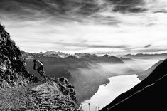 On the trail - Mountain Bike Photography