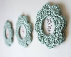 CROCHET PATTERN: SIMPLE PICTURE FRAME
