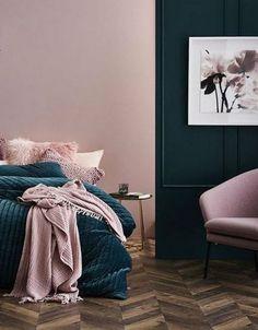 Il rosa in camera da letto Design, Pink, Trendy Tree