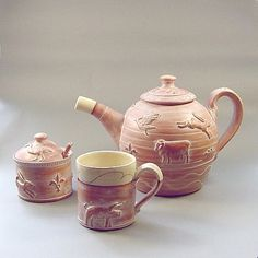 Delightful pottery by Philip Wood.